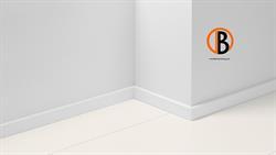 Parador Sockelleiste SL 5 Uni weiß D001 16x50mm,   2,57m