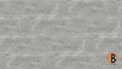KWG Designervinyl Antigua Stone Hydrotec Cement grey gefast