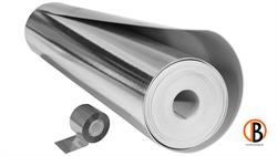 SILENT FLEX Trittschalldämmung Alu-kaschiert, inkl. Klebeband, 12,5 m2/Rolle