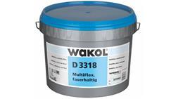 Wakol D 3318 MultiFlex Kleber, faserhaltig Eimer 6 kg
