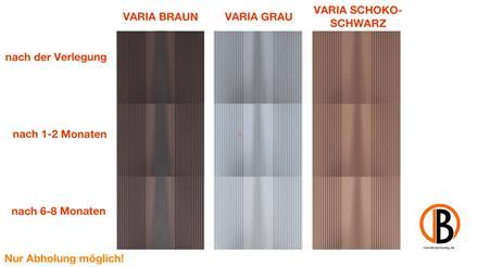 megawood CLASSIC Varia Barfußdiele varia braun 21x195x4200
