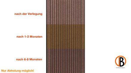 megawood CLASSIC Jumbo lavabraun 21x242x4200 Barfußdiele massiv