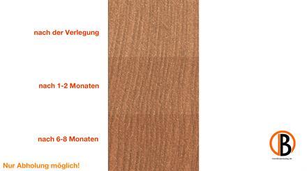 megawood CLASSIC Glattkantbrett naturbraun 17x72x3600mm