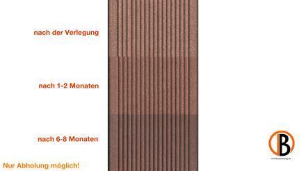 megawood CLASSIC Jumbo nussbraun 21x242x4200 Barfußdiele massiv