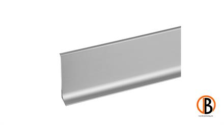KWG ALU-Sockelleiste edelstahl Optik