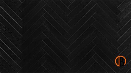 Parador Parkett Trendtime 3 Living Eiche Schwarz matt lackiert Minifase