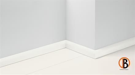 Parador Dekor Sockelleiste SL 2 Uni weiss Glanz Dekor 19,5x50 2570mm lang