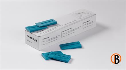 Parador Kunststoff-Rastkeile (48Stück/Ve) HD-PE