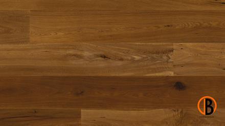Barth Fertigparkett Eiche Como XL geräuchert gebürtet natur geölt, 4-s gefast, 3 mm Nutzschicht