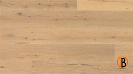 Fertigparkett Eiche JASPER gebürstet weiß geölt, 4-seitig gefast, 3 mm Nutzschicht