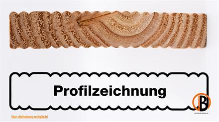 Douglasie I/III Qualitäts-Terrassendiele 26x140mm; 3,00m lang,  Ceko-Fux-Profil