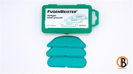 ferax Fugenmeister Radien 4 versch.Größen,incl. Bedienungsanleitung