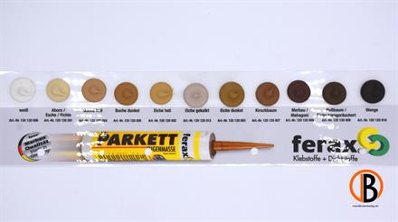 ferax Parkettfugenmasse Ahorn/Esche/Fichte 310 ml Kartusche