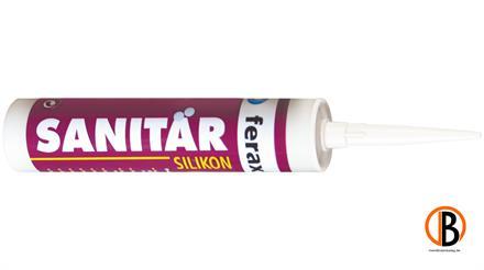 ferax Sanitär-Silikon, Farbe: betongrau 310 ml Kartusche