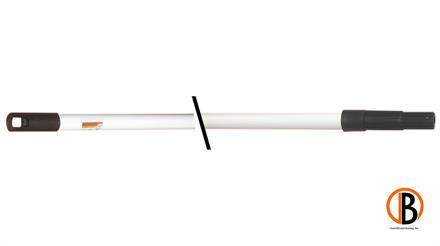ferax Teleskopstiel metall, 110 cm bis 200 cm pulverbeschichtet fu¨r Streichbu¨rste