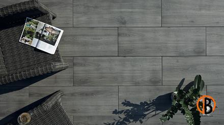 Terrassenfliesen Arena Holz Grigio Grey 120 x 40 x 2 cm