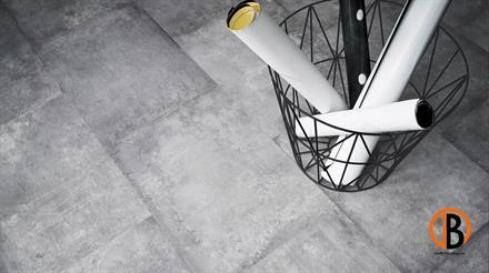 KWG Kork-Designboden Samoa HDF ARTbeton grigio