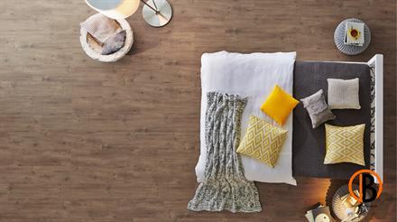 KWG Designboden Antigua Green, PVC-frei Eiche Honig