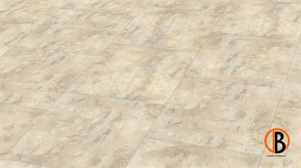 KWG Designervinyl Antigua Stone Hydrotec Cashmere stone gefast