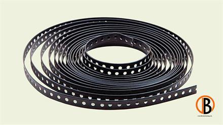 Megawood Fix Step Rispenband 10 m Rolle schwarz