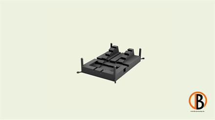 Megawood Fix Step System Standardplatte