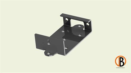 Megawood Fix Step System Montageschuh 10 Stck. ohne Schrauben V2A