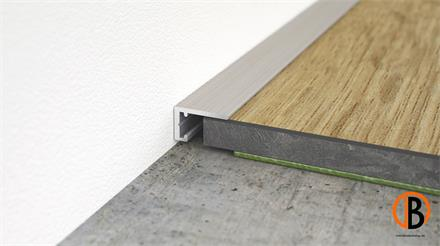 Minileiste Abschlussleiste Titan C31 Aluminium, 10x6x2000mm, AL10X5