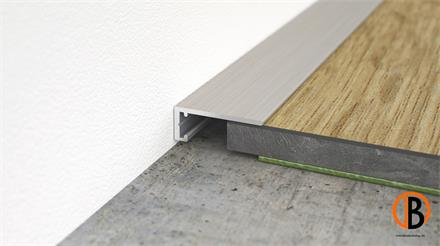 Minileiste Abschlussleiste Titan C31 Aluminium, 16x6x2000mm, AL16X5