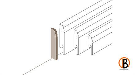 Parador Abschlusskappe variabel Typ 2 HL 1/2/3 Weiss, 2 St./Pack