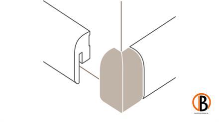 Parador Außenecken Typ 2 für SL 2 Alu Optik, 2 St./Pack