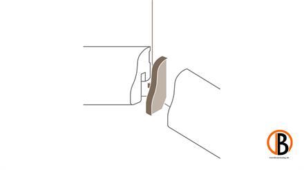 Parador Innenecken Typ 1 für SL 4 Alu Optik, 2 Stück/Pack