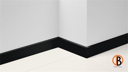 Parador Dekor Sockelleiste SL 18 Uni schwarz Dekor