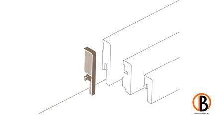 Parador Übergangskappe variabel Typ 2 SL 3/6/18 Alu Optik, 2 St./Pack