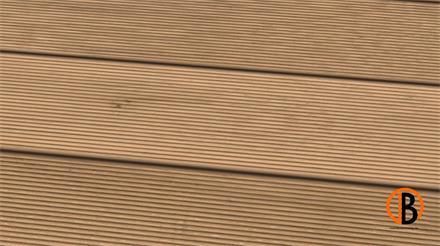 Eiche Standard KD gerillt/gerillt N+F 1,70m Terrassendiele 25 x 140 mm, Systemdiele