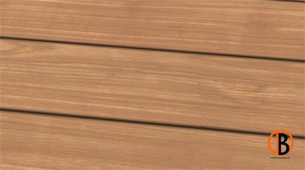 Bangkirai Prime KD glatt/glatt 2,45m Terrassendiele 25 x 145 mm