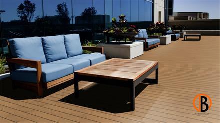 Garapa Prime KD glatt/glatt 1,52m Terrassendiele 25 x 120 mm