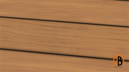 Garapa Prime KD glatt/glatt 1,53m Terrassendiele 25 x 145 mm