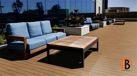 Garapa Prime KD glatt/glatt 1,53m Terrassendiele 35 x 140 mm