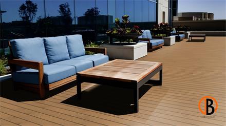 Garapa Prime KD glatt/glatt 1,53m Terrassendiele 45 x 145 mm