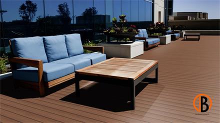 Red Cumaru KD glatt/glatt 1,53m Terrassendiele 21 x 120 mm