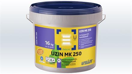 UZIN MK 250 Parkettklebstoff mit Blauer Engel Eimer 16 kg, lösemittel- und weichmacherfrei