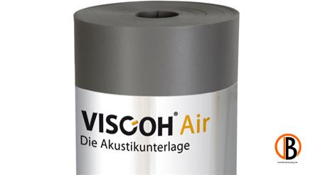 Viscoh Trittschalldämmung AIR, 12,5 m2/Rolle