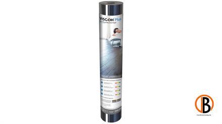 Viscoh Trittschalldämmung AIR Plus inkl. Klebeband, 12,5 m2/Rolle