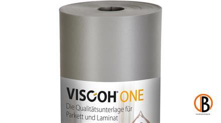 Viscoh ONE Trittschalldämmung 15 m2/Rolle