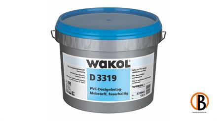 Wakol D 3319 PVC-Designbelagsklebstoff faserhaltig, Eimer 13 kg