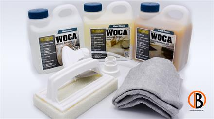 WOCA Pflegebox Öl weiß 34052000