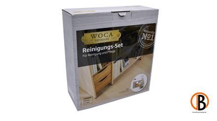 WOCA Reinigungsset natur inkl. 2,5l Holzbodenseife + 0,75l Seifenspray 34022090