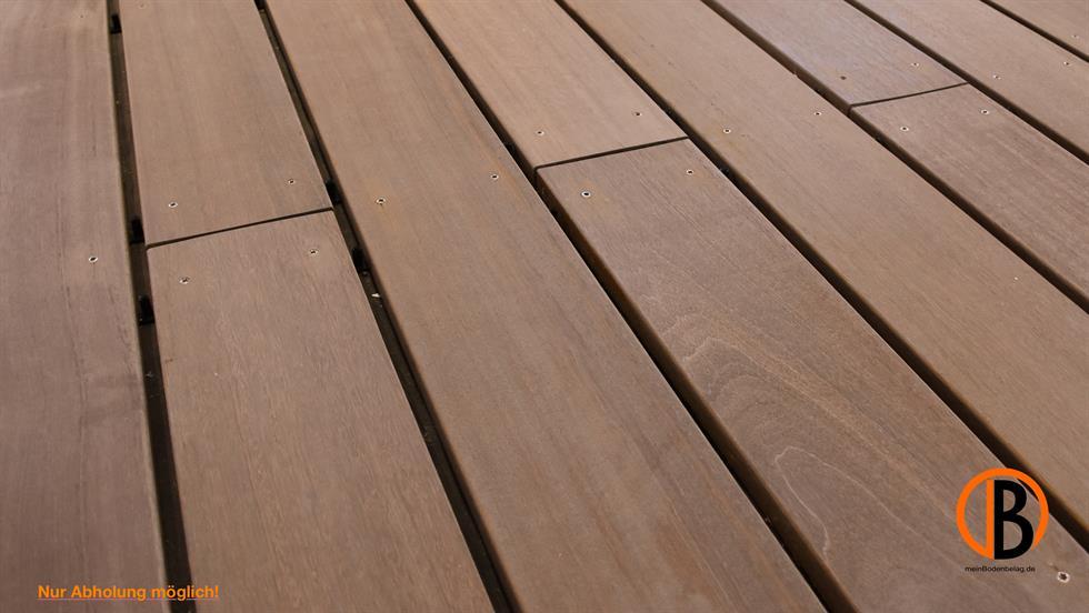 Berühmt Bangkirai Terrassendiele 4-seitig gehobelt, glatt Premium/Select PT82