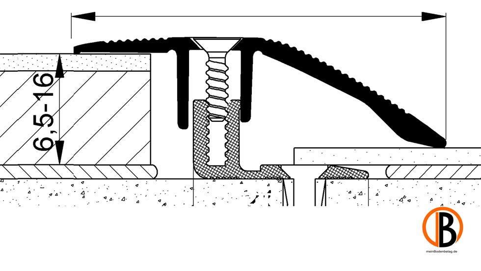 CINQUE ANPASSUNGSPROFIL 8222, ALU-ELOX. | 10002031;0 | Bild 1