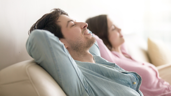 Loungebereich zum relaxen